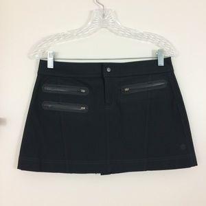 Athleta Ski Skirt Waterproof Black 2 Petite